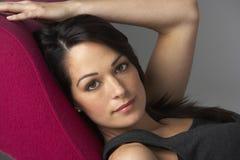 Studio Portrait Of Beautiful Woman Royalty Free Stock Image