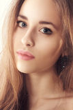 Studio portrait of a beautiful young blonde woman Stock Photo