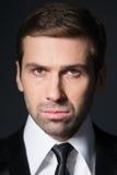 Studio portrait of business man. Stock Image