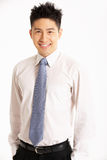 Studio Portrait Of Chinese Businessman Stock Images