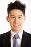 Studio Portrait Of Chinese Businessman Royalty Free Stock Image