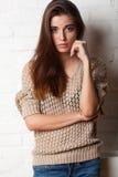 Studio portrait of fashion model Stock Photography