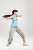 Studio Portrait of Female Hip Hop Dancer Stock Photography
