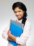 Studio Portrait Of Female Teenage Student Stock Images