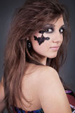 Studio portrait of a girl Royalty Free Stock Photo