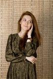 Studio portrait of a lady Royalty Free Stock Photo