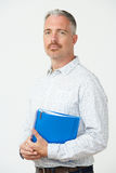 Studio Portrait Of Male Pre School Teacher Royalty Free Stock Photo