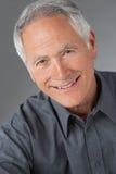 Studio Portrait Of Senior Man Royalty Free Stock Photography