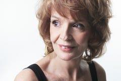 Studio Portrait Of a Senior Woman Stock Photography
