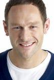 Studio Portrait Of Smiling Man Stock Photos