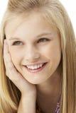 Studio Portrait Of Teenage Girl Royalty Free Stock Images