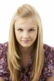 Studio Portrait Of Teenage Girl Stock Photography