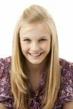 Studio Portrait Of Teenage Girl Royalty Free Stock Photography