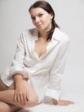 Studio portrait woman Royalty Free Stock Image