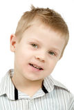 Studio portrait of young beautiful boy Royalty Free Stock Image