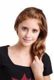 Studio portrait of young beautiful girl Stock Photo