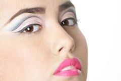 Studio portrait of young beautiful woman Stock Photography