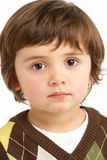 Studio Portrait Of Young Boy Royalty Free Stock Image