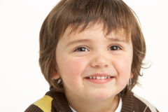 Studio Portrait Of Young Boy Royalty Free Stock Photography