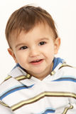 Studio Portrait Of Young Boy Stock Photography