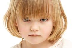 Studio Portrait Of Young Girl Stock Image