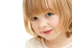 Studio Portrait Of Young Girl Stock Images