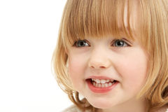 Studio Portrait Of Young Girl Royalty Free Stock Photos