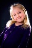 Studio portrait of young girl Stock Photos