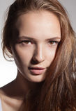 Studio portrait of young woman Royalty Free Stock Photo