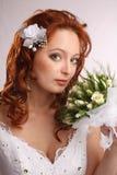 Studio portriat of the bride Stock Photo