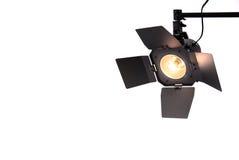 Studio-Punkt-Leuchte Stockfoto