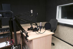studio radiofonico Fotografia Stock