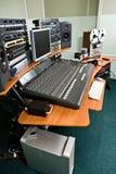 Studio recording equipment stock photos