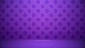 Studio room Blurred background Soft gradient pastel. With Polka dots use as Business backdrop, Template mock up for display of. Product royalty free illustration