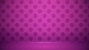Studio room Blurred background Soft gradient pastel. With Polka dots use as Business backdrop, Template mock up for display of. Product vector illustration