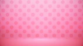 Studio room Blurred background Soft gradient pastel. With Polka dots use as Business backdrop, Template mock up for display of royalty free illustration