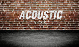 Studio room music Abstract background Stock Photography