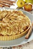 Begriffsstudio geschossen von einer appel Torte Stockbild