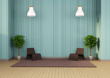 Studio Set Reception room simple minimal and Arts Royalty Free Stock Photos