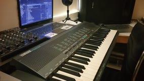 Studio set up. Studio setup turn tables Stock Photography