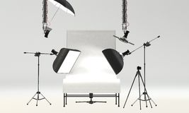 Studio Setup Royalty Free Stock Image