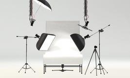 Studio Setup. Photo studio setup for object photo shoot Royalty Free Stock Image