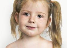 Studio Shoot People Kid Girl stock photo
