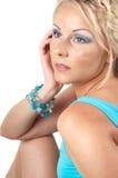 Studio shot of beautiful woman Royalty Free Stock Photography