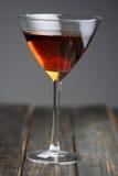 Studio shot of beverage in martini glass Stock Photo