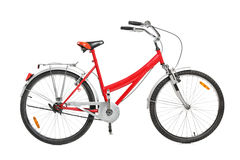 A studio shot of a bicycle Royalty Free Stock Images