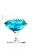Studio shot of blue cracao drink Stock Images