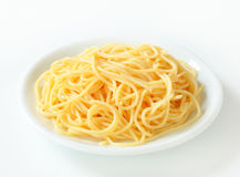 Boiled spaghetti Stock Photos
