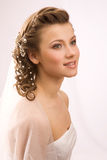 Studio shot of bride Royalty Free Stock Photo