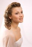 Studio shot of bride Royalty Free Stock Photo